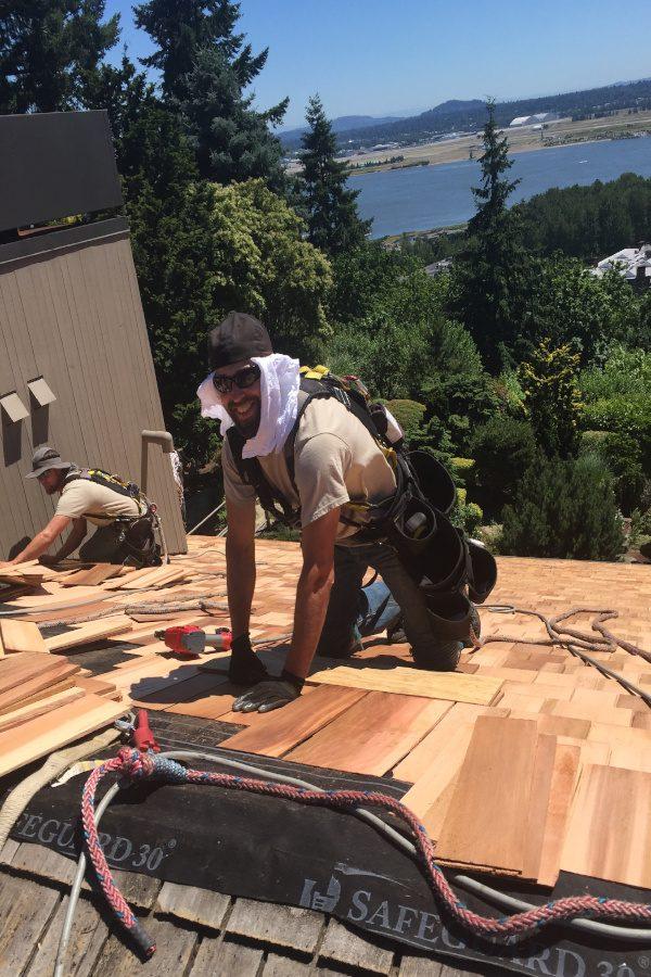 Wood Shake Roof Installation - Vancouver, WA